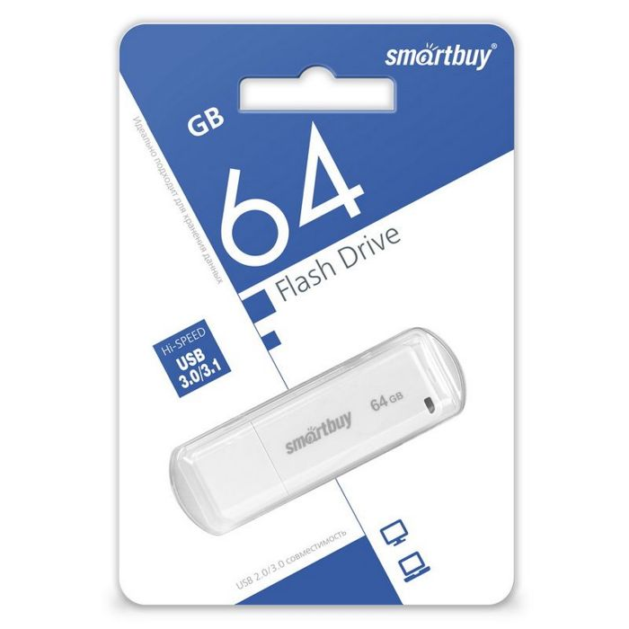 USB Flash Smart Buy 64Gb 3.0 LM05 White